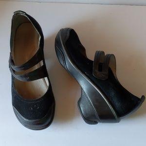 Jambu scarlet black Mary Jane pump sport shoes-8M